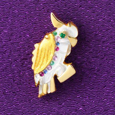 美の守り・黄金 幸の鳥(Golden Parrot)(S)
