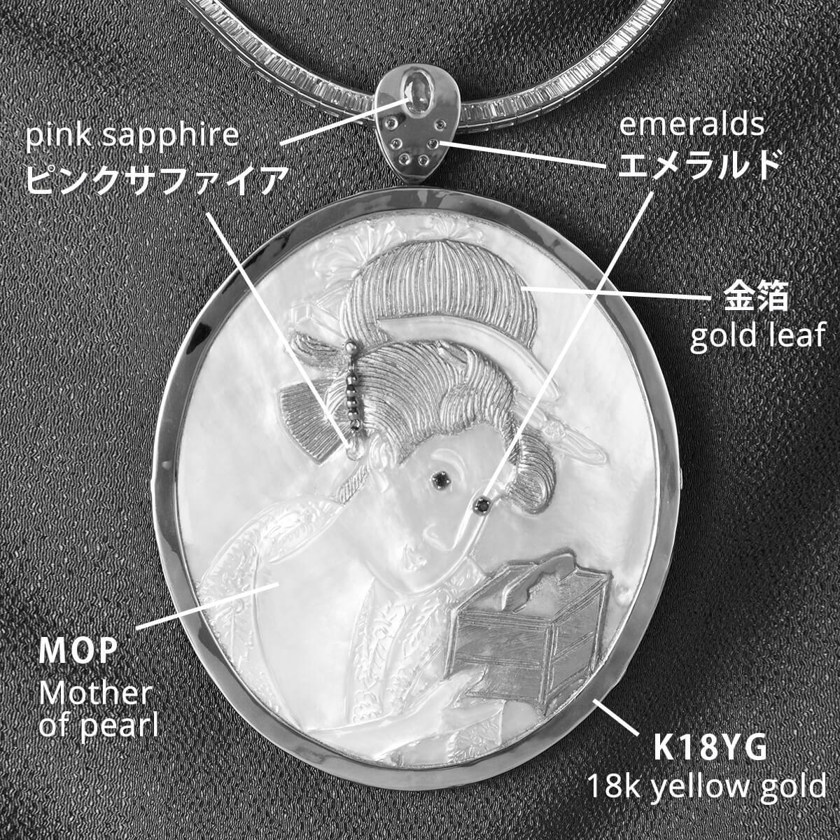 浮世絵(L)金の玉手箱(Kin no Tamatebako)